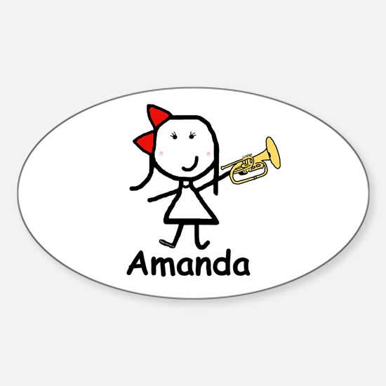 Mello - Amanda Oval Decal