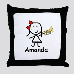Mello - Amanda Throw Pillow