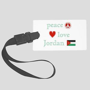 PeaceLoveJordan Large Luggage Tag