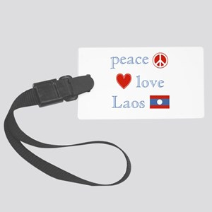 PeaceLoveLaos Large Luggage Tag