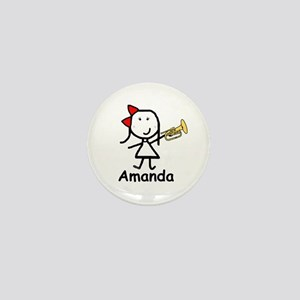 Mello - Amanda Mini Button