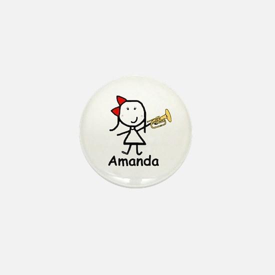 Mello - Amanda Mini Button