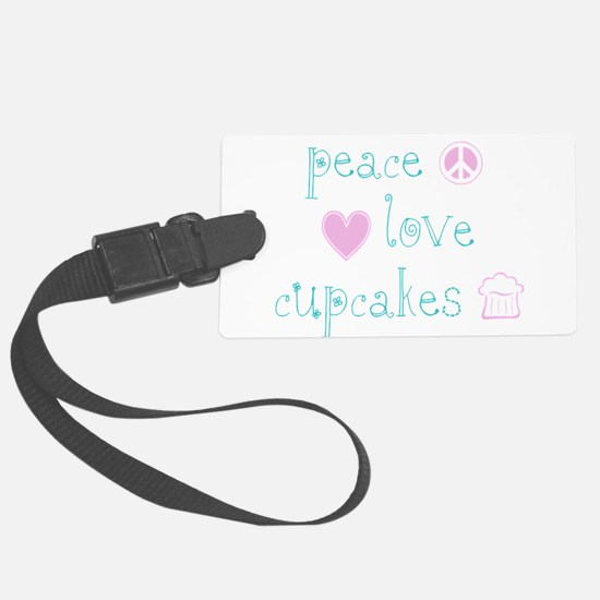 PeaceLoveCupcakes.png Luggage Tag