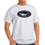 Light Catfish Noodling T-Shirt