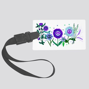 Growing Peace Large Luggage Tag
