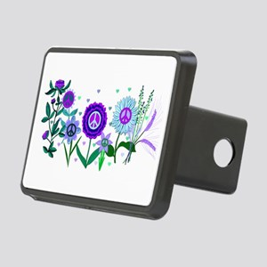 Growing Peace Rectangular Hitch Cover
