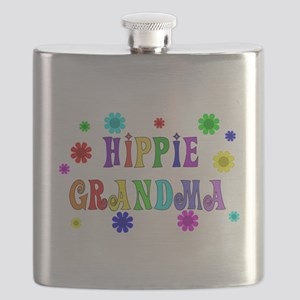 Hippie Grandma Flask