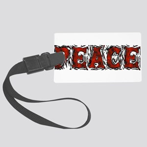 Crumbling Peace Large Luggage Tag