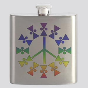 rainbowpeace01a Flask