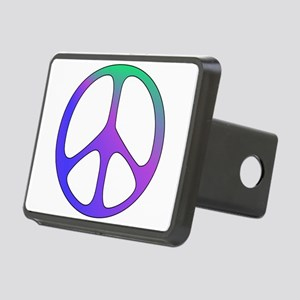 peacesign01 Rectangular Hitch Cover