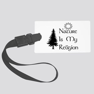 nature01 Large Luggage Tag