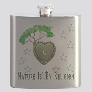 Nature Is My Religion Flask