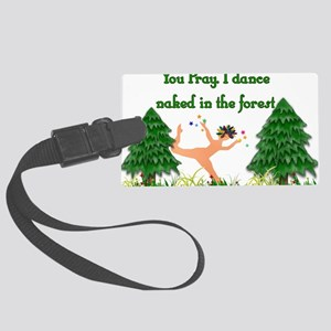 pagan_dancer01x Large Luggage Tag
