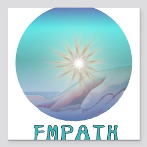"empath01x Square Car Magnet 3"" x 3"""