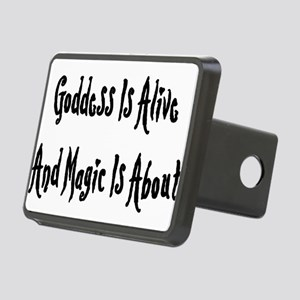goddessmagic01x Rectangular Hitch Cover