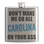 Carolina Football Flask