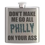 Philadelphia Football Flask