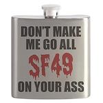 San Francisco Football Flask