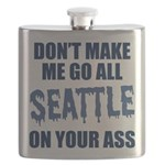 Seattle Football Flask