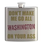 Washington Football Flask