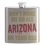 Arizona Baseball Flask