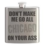 Chicago Baseball Flask