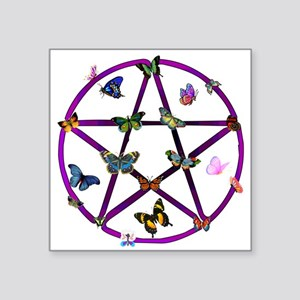 "wiccan01 Square Sticker 3"" x 3"""