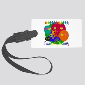 diversity01 Large Luggage Tag