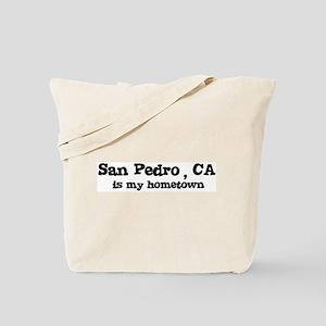 San Pedro - hometown Tote Bag