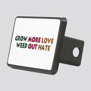 grow_love01 Rectangular Hitch Cover