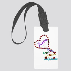 lovemore03x Large Luggage Tag
