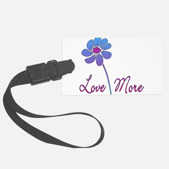 love_more01.png Luggage Tag