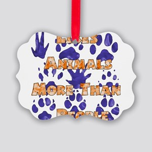 animal_lover01 Picture Ornament