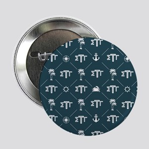 "Sigma Tau Gamma Pattern Blue 2.25"" Button (10 pack"