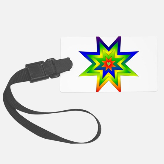 rainbow_star02.png Luggage Tag