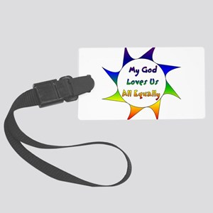 Equal Love Large Luggage Tag