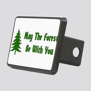 forest01x Rectangular Hitch Cover