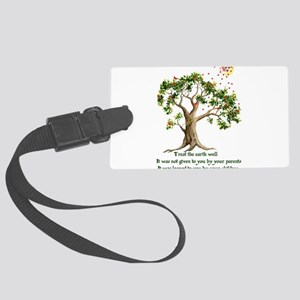environment06x Large Luggage Tag