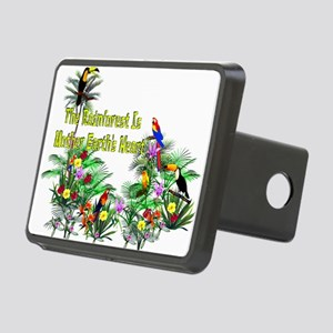 save_the_rainforest01 Rectangular Hitch Cover
