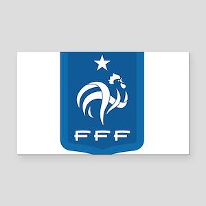 France Rectangle Car Magnet