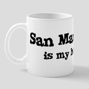 San Martin - hometown Mug