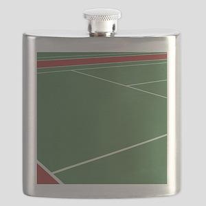 Tennis Court Flask