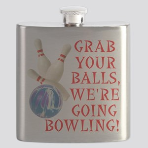 FIN-grab balls bowling Flask
