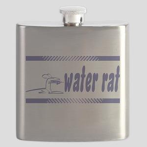 FIN-water-rat-water-skiing Flask