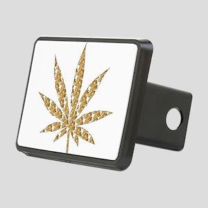 Shroom Weed Leaf Rectangular Hitch Cover