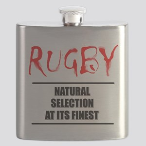 Rugby Natural Selection Flask