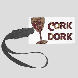 cork_dork01 Large Luggage Tag