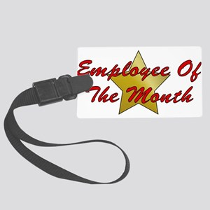 employee01 Large Luggage Tag