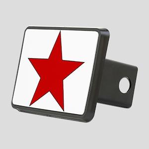redstar01 Rectangular Hitch Cover
