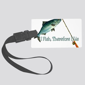 fish01 Large Luggage Tag